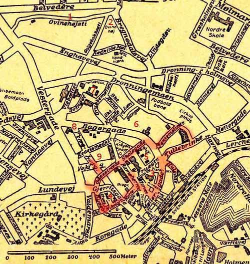 Svendborg bykort